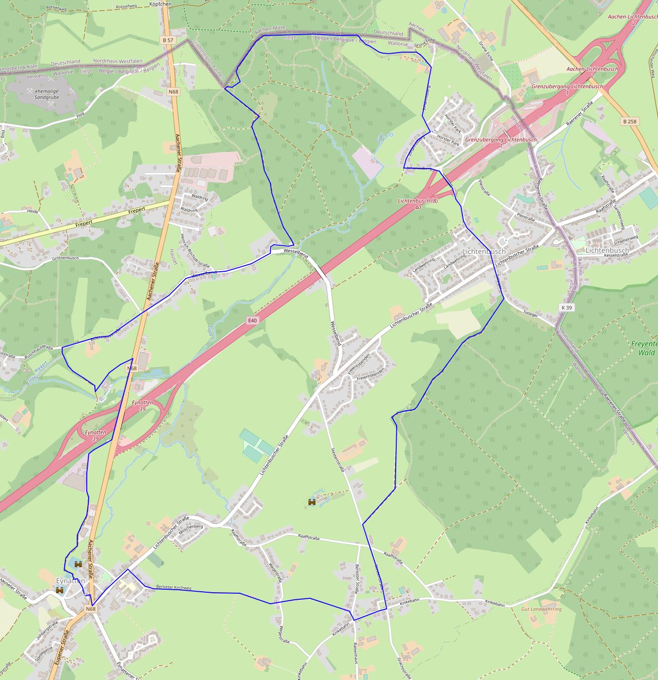 Eynatten2-Zyklopensteine-Route
